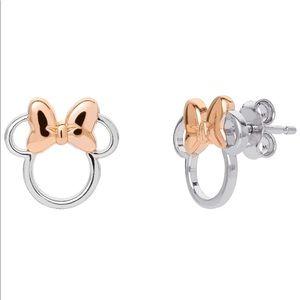 NWT Disney Stud Earrings Minnie mouse